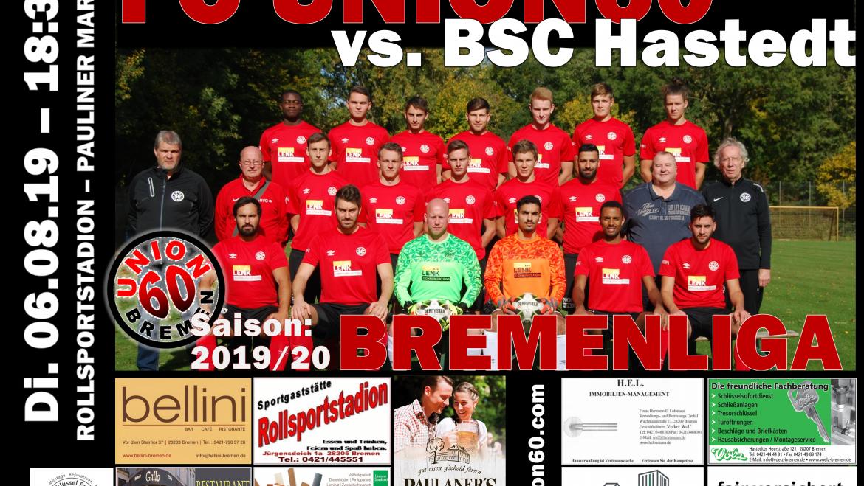 Derbyniederlage in der Schlussphase – Team verliert gegen den BSC Hastedt  mit 0:2 (0:0)
