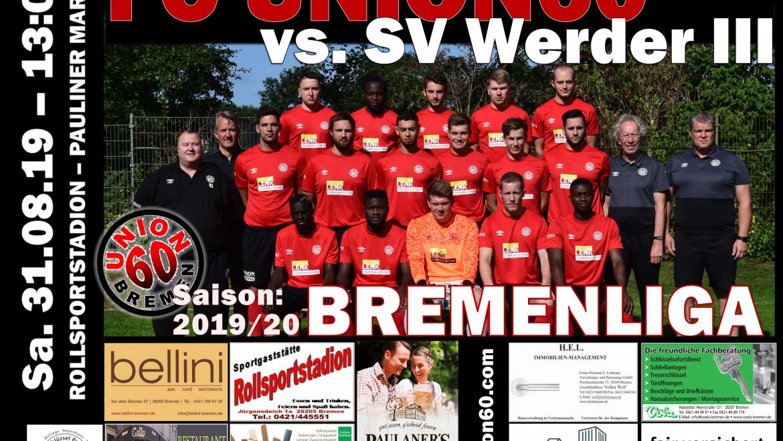 Arbeitssieg im Nachbarschaftsduell  – Team besiegt den SV Werder III mit 1:0 (0:0)