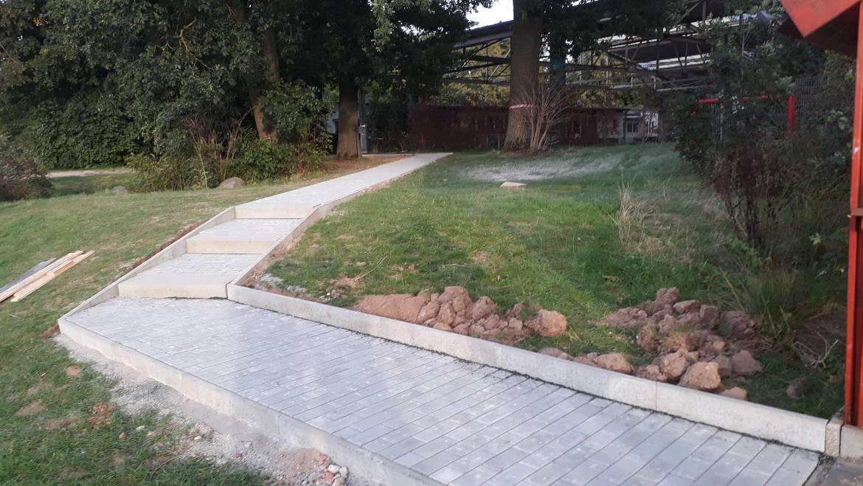 Weg-Bauprojekt abgeschlossen