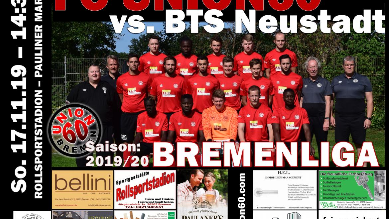 Serie  hält – Team erreicht  gegen die BTS Neustadt 1:1 (0:0) – Remis