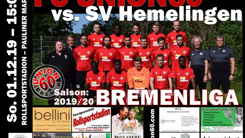 Auch im 5. Spiel hält die Serie – Team spielt gegen den SV Hemelingen 1:1 (1:0)