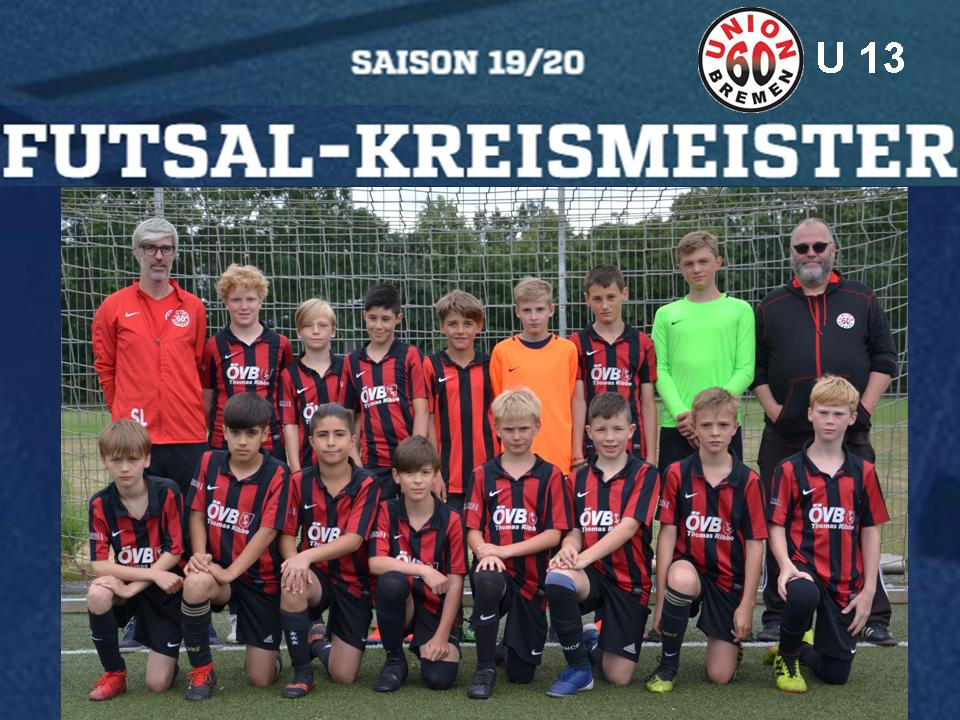 D1 wird Futsal-Kreismeister