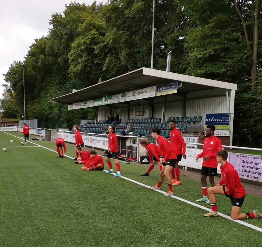 Die Vorbereitung der U19 auf die neue Saison 2021/22 läuft.